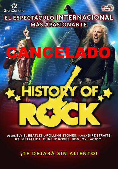 HISTORY OF ROCK - CANCELADO